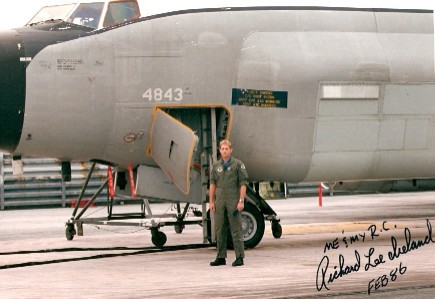 Reeko and RC135 in Okinawa 1986